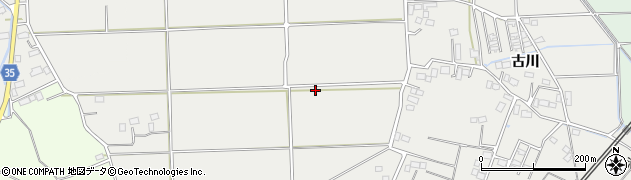 福島県いわき市四倉町狐塚周辺の地図