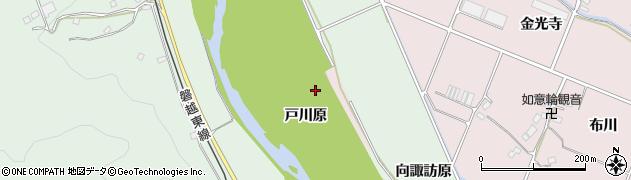 福島県いわき市平中平窪(戸川原)周辺の地図