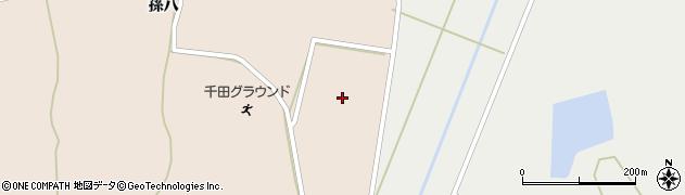 福島県白河市東千田(新下原)周辺の地図