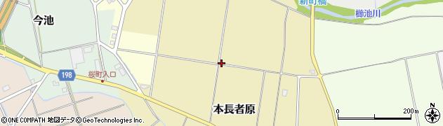 新潟県上越市本長者原周辺の地図