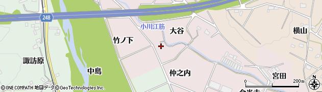 福島県いわき市平中平窪(仲之内)周辺の地図