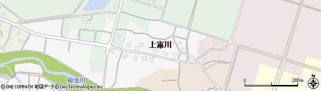 新潟県上越市上富川周辺の地図