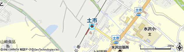 新潟県十日町市周辺の地図