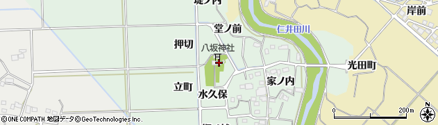福島県いわき市四倉町塩木(水久保)周辺の地図