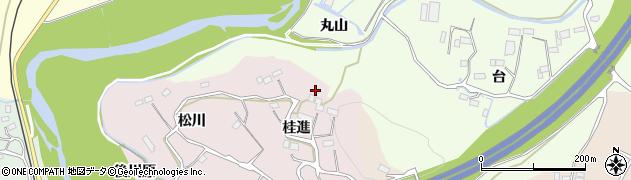福島県いわき市平中平窪(桂進)周辺の地図
