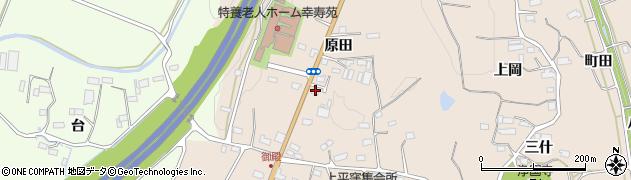 福島県いわき市平上平窪(原田)周辺の地図