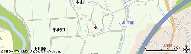 福島県いわき市小川町下小川(味噌野)周辺の地図