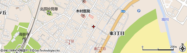 福島県いわき市四倉町(東3丁目)周辺の地図