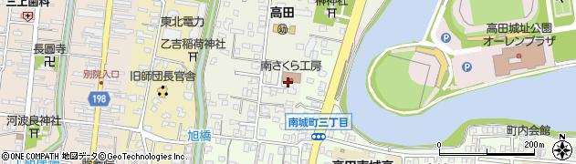 新潟県上越市大手町周辺の地図