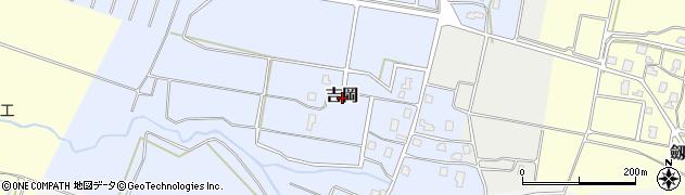 新潟県上越市吉岡周辺の地図