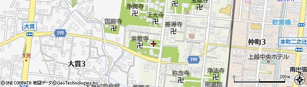 明善寺周辺の地図
