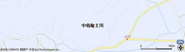 石川県七尾市中島町土川周辺の地図