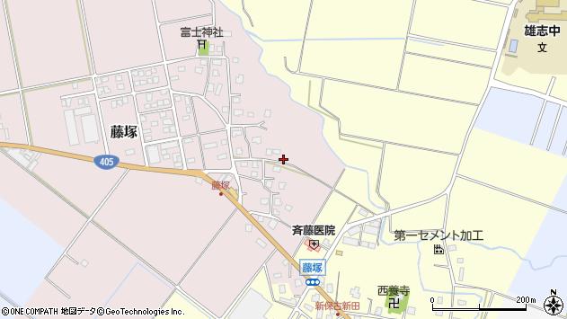〒943-0121 新潟県上越市藤塚の地図