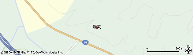 福島県いわき市三和町合戸(浮矢)周辺の地図