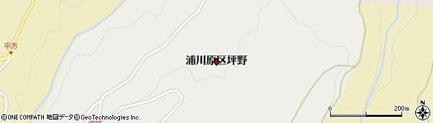 新潟県上越市浦川原区坪野周辺の地図