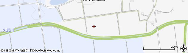 福島県白河市東下野出島(矢武川)周辺の地図