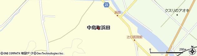 石川県七尾市中島町浜田周辺の地図