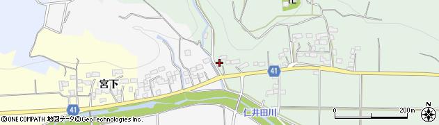 福島県いわき市四倉町薬王寺(粟刈沢)周辺の地図