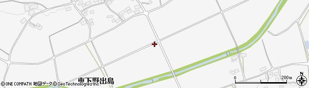福島県白河市東下野出島(岩井戸前)周辺の地図