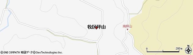新潟県上越市牧区坪山周辺の地図