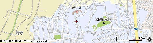 新潟県上越市御殿山町周辺の地図