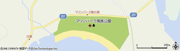 石川県七尾市能登島佐波町(ラ)周辺の地図