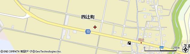 新潟県上越市四辻町周辺の地図