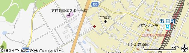 新潟県南魚沼市五日町一区周辺の地図