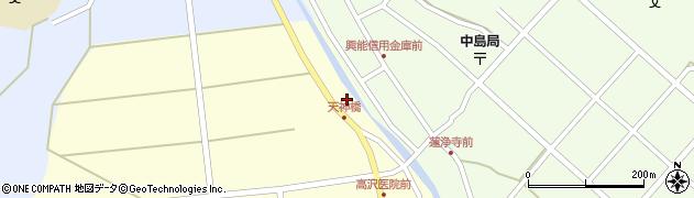 石川県七尾市中島町浜田(カ)周辺の地図
