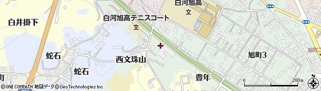福島県白河市豊年周辺の地図