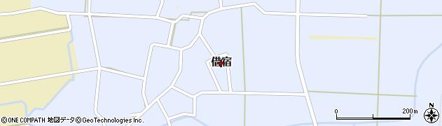 福島県白河市借宿周辺の地図