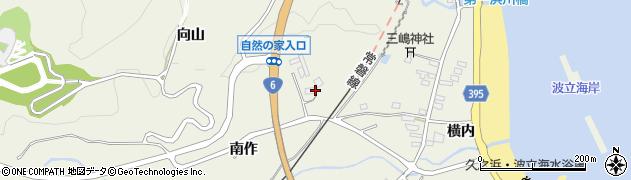福島県いわき市久之浜町田之網周辺の地図
