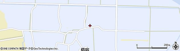 福島県白河市借宿(梅田)周辺の地図