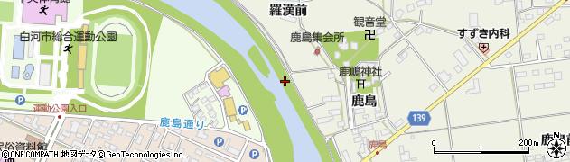 福島県白河市大(羅漢前)周辺の地図