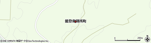 石川県七尾市能登島別所町周辺の地図