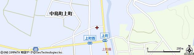 石川県七尾市中島町上町(乙)周辺の地図