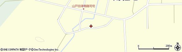 石川県七尾市中島町山戸田(カ)周辺の地図