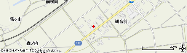 美容室プランタン周辺の地図