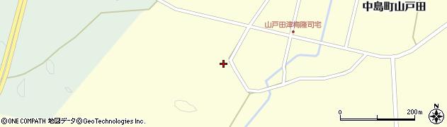 石川県七尾市中島町山戸田(ワ)周辺の地図