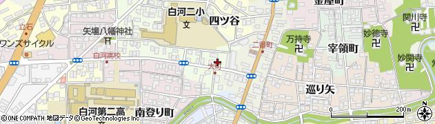 一本堂福島新白河店周辺の地図