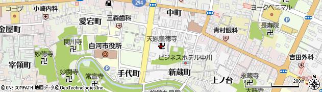 天恩皇徳寺周辺の地図