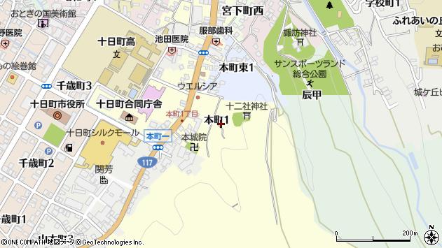 〒948-0003 新潟県十日町市本町六の二丁目の地図