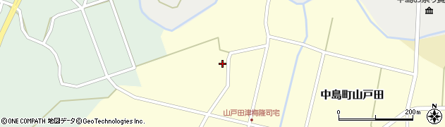 石川県七尾市中島町山戸田(ヲ)周辺の地図