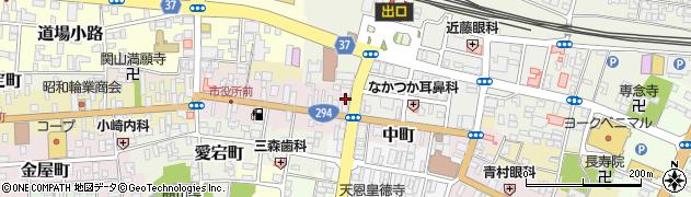 コワーキング スペースナカマチ24周辺の地図