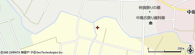 石川県七尾市中島町山戸田(ヌ)周辺の地図