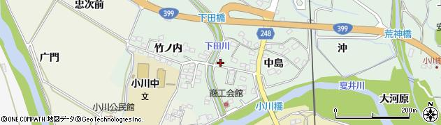 松本新聞店周辺の地図