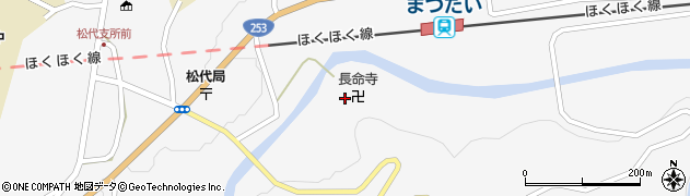 長命寺周辺の地図