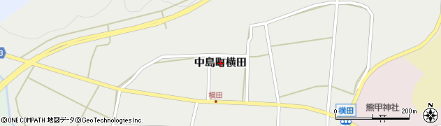石川県七尾市中島町横田周辺の地図