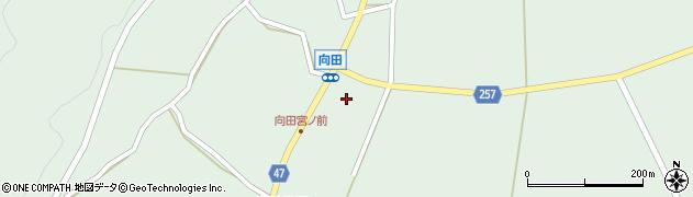 石川県七尾市能登島向田町(ホ)周辺の地図