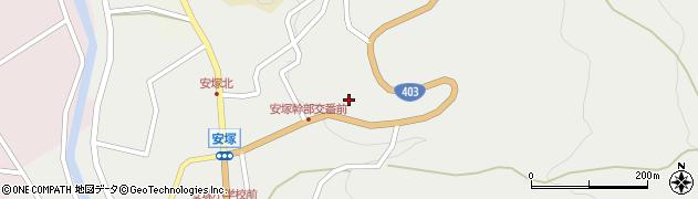 添景寺周辺の地図